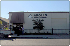 Apollo Metal Spinning - Our Shop