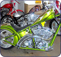 Apollo Metal Spinning - Motorcycle Parts